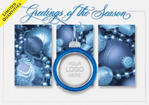 Radiant Glitz Holiday Cards