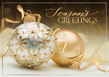 Ornate Greetings Holiday Cards